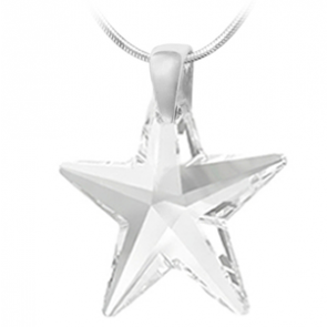 Pandantiv Steluta Crystal - Cristal Swarovski 40 mm