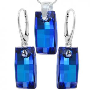 Bijuterii Cristale Swarovski Bermuda Blue