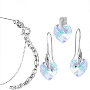 Set Inimioare - Cristale Swarovski