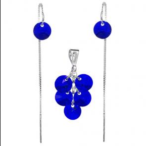 Set Majestic Blue - Cristale Swarovski