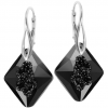 Cercei Growing Crystal Rhombus - Cristal Swarovski - Designer Edition IRIS VAN HERPEN