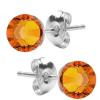 Cercei Tangerine - Cristale Swarovski