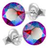 Cercei Cristale Swarovski Xirius - Light Siam Shimmer