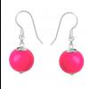 Cercei Neon Pink - Perle Swarovski