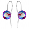 Cercei Tasha Cristale Swarovski Xirius - Light Siam Shimmer