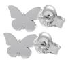 Cercei Silver Butterflies