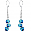 Cercei Adeola -  Cristale Swarovski Bermuda Blue