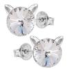 Cercei Pisicute - Cristale Swarovski Crystal F