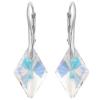 Cercei Rhombus AB - Cristale Swarovski