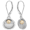 Cercei SeaShells -  Perle Swarovski Gold