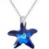 Colier Stea de Mare - Cristal Swarovski Bermuda Blue
