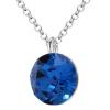 Colier Cristal Swarovski Xirius Capri Blue
