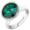 Inel Missi - Cristal Swarovski Emerald