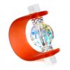 Inel Missi Orange - Cristal Swarovski
