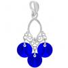 Pandantiv Mini Chandelier - Cristale Swarovski Majestic Blue