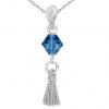 Pandantiv Esprit - Cristale Swarovski Capri Blue
