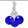 Pandantiv Scarlet - Cristale Swarovski Majestic Blue