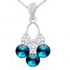 Pandantiv Chandelier Bermuda Blue